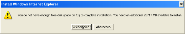 ie install